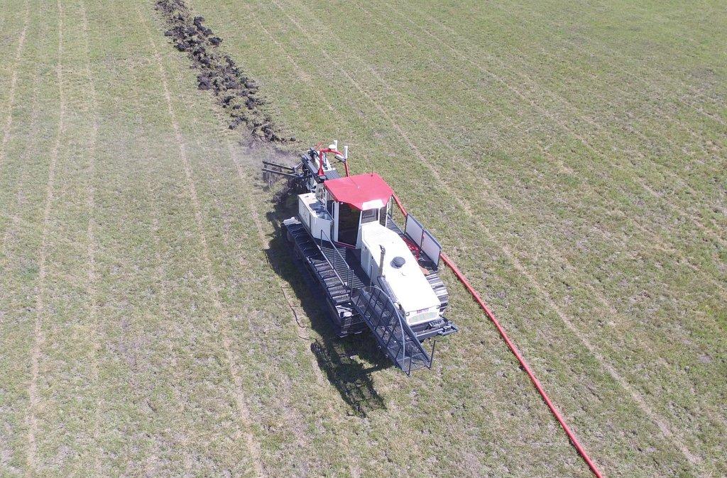 Farm Drainage Equipment - Tile Plow