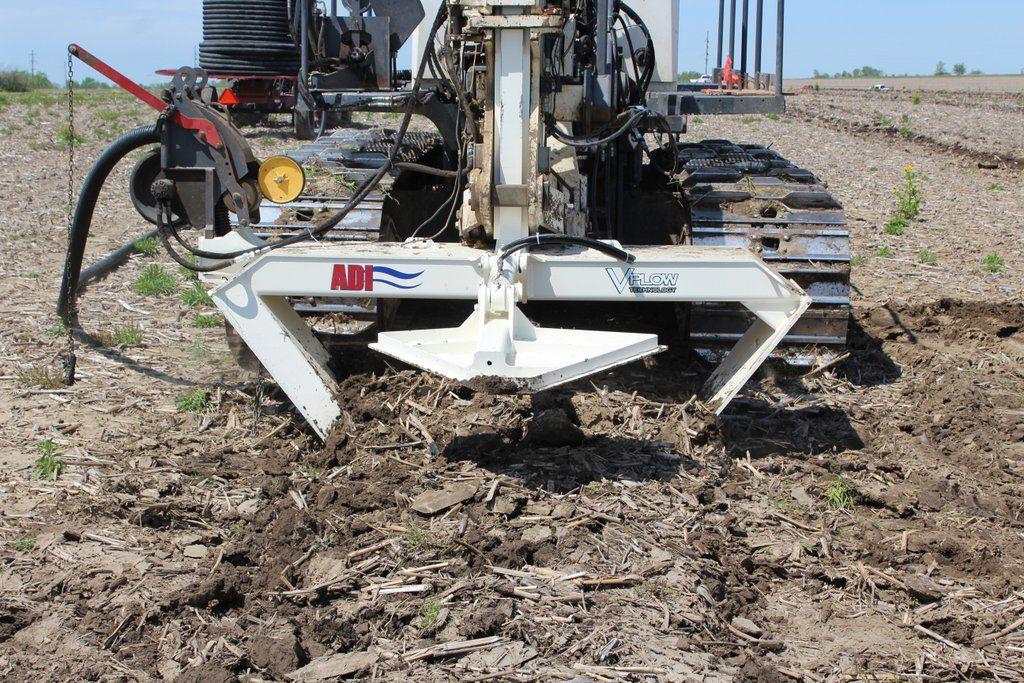 Farm Drainage Equipment - V Plow